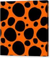Dalmatian  Black Pattern 03-p0173 Canvas Print