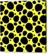 Dalmatian  Black Pattern 05-p0173 Canvas Print