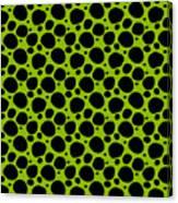 Dalmatian  Black Pattern 09-p0173 Canvas Print