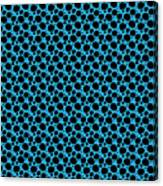 Dalmatian  Black Pattern 18-p0173 Canvas Print