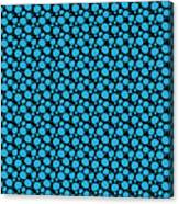 Dalmatian Pattern With A Black Background 18-p0173 Canvas Print