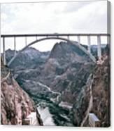 Dam Crossing #2 Canvas Print