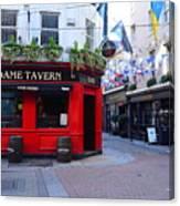 Dame Tavern Canvas Print