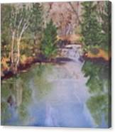 Dan S Pond Canvas Print