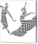 Dance Beauty Canvas Print
