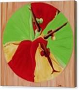 Dance Circle Canvas Print