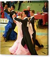 Dance Contest Nr 18 Canvas Print