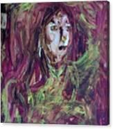 Dance Hall Girl Canvas Print