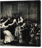 Dance In A Madhouse Canvas Print