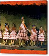 Dance Of La Ninos Canvas Print