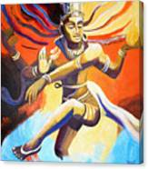 Dance Of Shiva Canvas Print