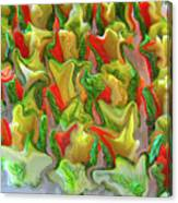 Dance Of The Appetizers Canvas Print