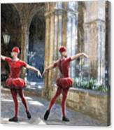 Dance Of The Swiss Guard Canvas Print