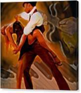 Dance Scene Xv Canvas Print