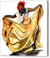 Dance The Belair Canvas Print