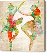 Dance With Me Canvas Print