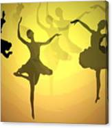 Dance With Us Into The Light Canvas Print