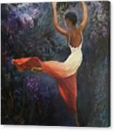 Dancer A Canvas Print