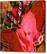 Dancer In Reds Canvas Print