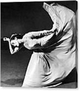 Dancer Martha Graham Canvas Print