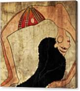 dancer of Ancient Egypt Canvas Print