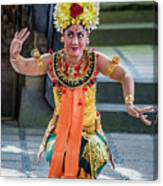 Dancer Of Bali Canvas Print