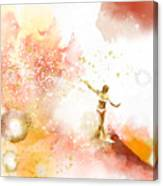 Dancer On Water 2 Canvas Print