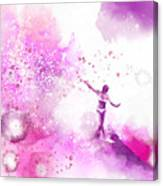 Dancer On Water 4 Canvas Print