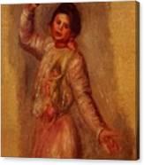 Dancer With Castenets 1895 Canvas Print