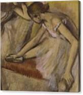 Dancers In Repose Canvas Print