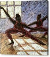 Dancers Near A Window Canvas Print