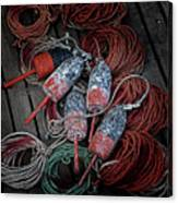 Dances With Lobsters Canvas Print