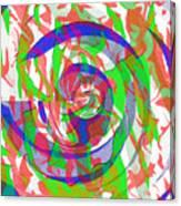 Danceyflam Canvas Print