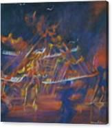 Dancin Canvas Print