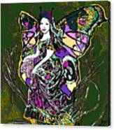 Dancing Butterfly Canvas Print