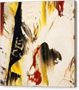 Dancing Colors Canvas Print