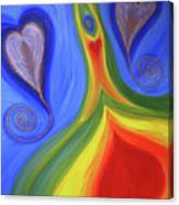 Dancing Earth Goddess Canvas Print