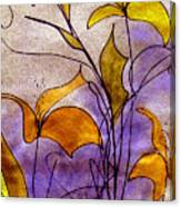 Dancing Flora Canvas Print