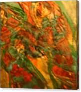 Dancing Gals - Tile Canvas Print
