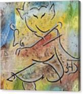 Dancing Ganesha Canvas Print