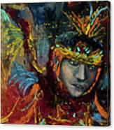 Dancing In Color Canvas Print