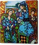 Dancing In Newburyport Canvas Print