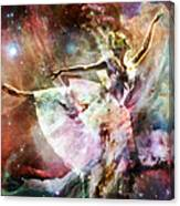 Dancing In Stardust Canvas Print