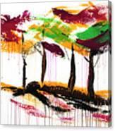 Dancing In The Rain, Vol. 1 Canvas Print