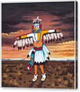 Dancing Kachina Canvas Print