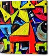 Dancing Naive #2 Canvas Print
