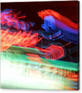 Dancing Neon Canvas Print