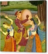 Dancing Outdoor Canvas Print