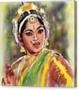 Dancing Padmini Canvas Print