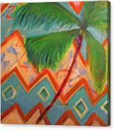 Dancing Palm Canvas Print
